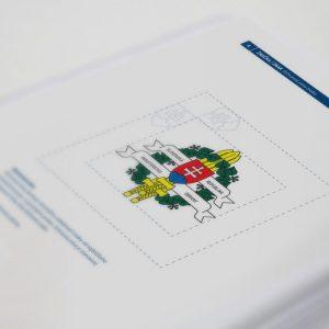 Dizajn manuál: MOSR a GŠSR | Redizajn značky a jej aplikácie | klient: Grafické štúdio September