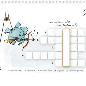 Interný kalendár spoločnosti Orange Slovensko | Interný kalendár na rok 2011 prezamestnancov Orange Slovensko, a.s. Ilustrácie – Edita Sliacka | klient: Wiktor Leo Burnett