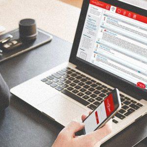 aplikácia MedExpert | Online riešenie odborného diskusného fóra pre medicínsky personál | klient:  agentúra Webster