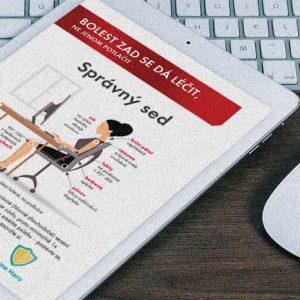 Edukačné materiály programu Bez bolesti chrbta spoločnosti Wörwag | klient: agentúra Webster