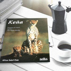 Produktový katalóg African Safari clubu | klient: Grafické štúdio September