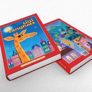 Detská kniha: Lilli Langhals vydavateľstvo Július Breitshof | klient: D&D International
