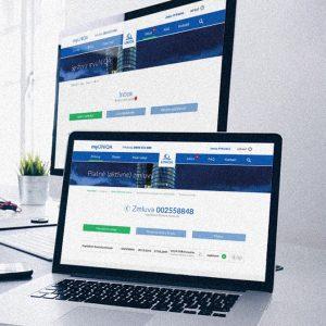 Redizajn e-systému klientského centra | klient: Uniqa
