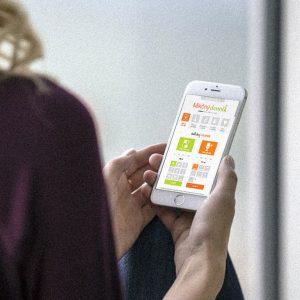 aplikácia Mikčný denník | Online riešenie mikčného denníka pre ľudí s problémom inkontinencie | klient:  agentúra Webster