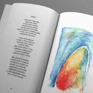 Nohy do oblohy kniha poézie, kniha texty: Jirí Koli kolínský | ilustrácie: eppli eva Kubáňová