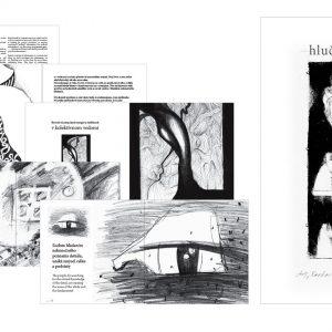 Hlučná samota | noisy loneliness | ilustrovaná filozofia, kniha eppli Evy Kubáňovej | vydavateľ: somastudio