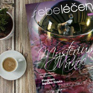 časopis Sebeléčení | Logo, dizajn manuál a dizajn časopisu