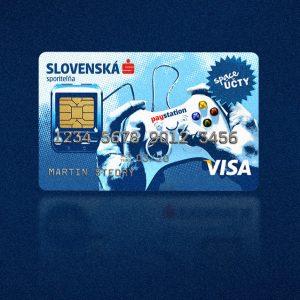 Space karta | vizuálna komunikácia Space karty Slovenskej sporiteľne | klient: Core 4