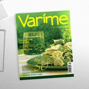 časopis Varíme ľahšie | Logo, dizajn manuál a dizajn časopisu | 2007-2009 | klient: Jana Kundrátová – autor projektu